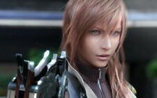 159207 Final Fantasy xiii 13 FF Lightning Face Girl Gam Print Poster Affiche