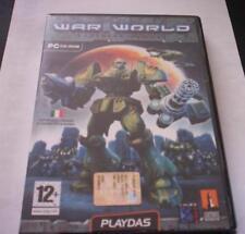 WAR WORLD Tactical Combat game pc original ROBOT ENG