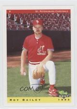 1993 Classic Best St Petersburg Cardinals #3 Roy Bailey St. Rookie Baseball Card
