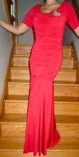Jovani Red Jersey Evening Dress Style 171096  Sizes  8 12