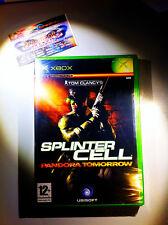 TOM CLANCY'S SPLINTER CELL PANDORA TOMORROW NUOVO SIGILLATO NEW SEALED XBOX