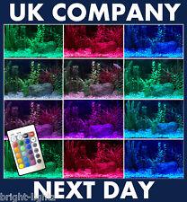 LED STRIP LIGHT COLOUR CHANGING AQUARIUM LIGHTS FISH UK