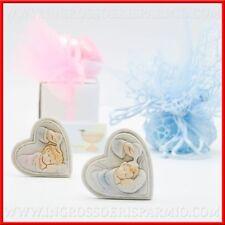 Icona cuore fonte battesimale bimbo bimba bomboniere segnaposto battesimo stock