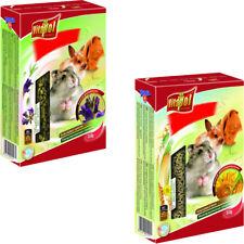 VITAPOL Futter 5-er SET Gemüsefutter Vollwertiger Granulat Nagetiere Kaninchen