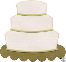 QuicKutz Lifestyle Crafts 4x4 Single Die WEDDING CAKE Reception REV-0201-S