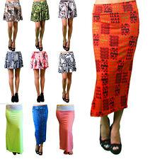 Lot Women Mini Skirt Career Flared Skater Stretch Waist Casual Plus XL 2X 3X