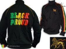 Veste Rasta Roots Reggae Lion Of Judah Black & Pround Jah Star Wear
