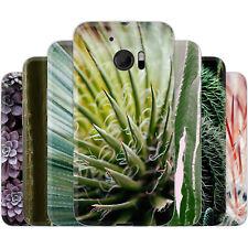 Dessana Cactus TPU Funda Protectora Silicona Carcasa Móvil Estuche para HTC