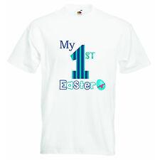 Mon Premier Pâques Personnalisé Graphique Citations Impression T-shirt Garçon