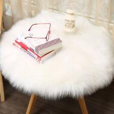 Mode Plush Round Carpet Throw Rug Anti-Skid Shaggy Carpet Soft Floor Mat 30/90cm