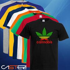 Camiseta cannabis marihuana divertida humor (ENVIO 24/48h) VARIOS COLORES