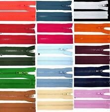 95 cm Reißverschluß Reißverschlüsse teilbar Zipper Polyester Kunststoff Farbwahl