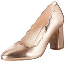 Femme Plus Taille 9 42 Nude Beige En Daim Talon Moyen Travesti CD Drag Cour Chaussures