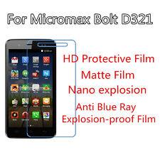 3pcs For Micromax Bolt D321 HD Protective Ultrathin,Anti Scracth Matte Film