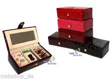 Boîte à Bijoux Coffret à Bijoux Divers Couleurs N° : 1402028