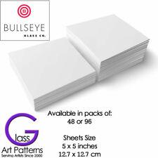 Bullseye Thinfire Kiln Shelf Paper 5 x 5 inch Packs of 48 or 96 Fusing Supplies