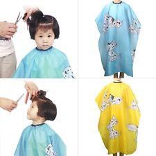 Kids Cartoon Dressing Cape Salon Gown Cover Barber Hair Cut Cloth Hairdresser