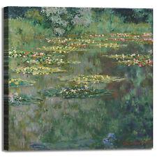 Monet ninfee 67 design quadro stampa tela dipinto telaio arredo casa