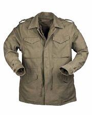 US VESTE DE COMBAT M51 PREWASH - prélavé avec doublure olive,veste,Armée terre,