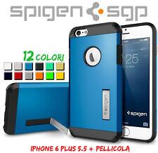 """COVER CUSTODIA slim TOUGH ARMOR TIPO SPIGEN per APPLE IPHONE 6 PLUS 5.5"""""""