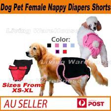 Dog Pet Female Nappy Diapers Shorts Season Sanitary Pants UndiesUnderpants XS-XL