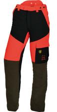 Pantaloni antitaglio Ötscher STRETCH STRONGO-FLEX Rosso/nero