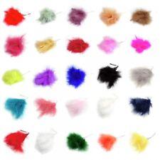 Fluff plumes Corsage, couleur 10 CM TIGE de fil BRIDAL HAIR HAT