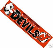 New Jersey Devils Licensed NHL Bumper Sticker Logo NEW
