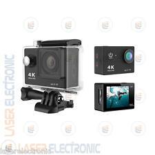 GOPRO TELECAMERA 4K FULL HD 1080P WIFI Sport Camera STILE GO PRO SUBAQUEA 30MT