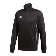 Adidas Core 18 entraînement Top Enfants Noir Blanc