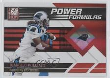 2011 Donruss Elite Power Formulas Red 9 DeAngelo Williams Carolina Panthers Card
