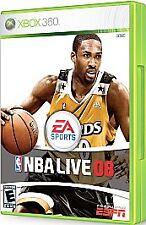 NBA Live 08 (Microsoft Xbox 360, 2007)