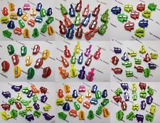 12 en plastique Taille-Crayons Bureau & School, véhicules, avion animal, guitare
