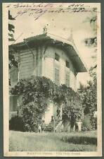 PARMA SALA BRAGANZA 01 MAIATICO - VILLA DONATI Cartolina viaggiata 1930