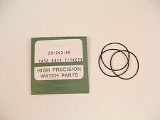 ¡ nuevo! 3x Reloj O Anillo Sellos Empaques Para Rolex 29-243-86 se adapta a muchos caso Espalda P5c