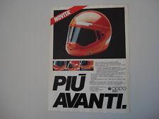 advertising Pubblicità 1983 CASCO NAVA INTEGRAL 3