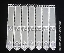Panneaux Scheibengardine Gardine Scheibenhänger Vorhang weiß B=0,30-1,50m H=0,5m