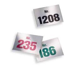 Aufklebenummern Tombola, Block mit 100 Nummern, selbstklebend  NEU