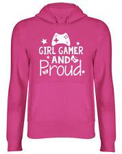 Girl Gamer and Proud Cute Hooded Top Unisex Hoodie
