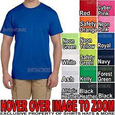 Mens Fruit of the Loom Cotton PRESHRUNK T-Shirt S-XL 2XL 3XL, 4XL, 5XL, 6XL NEW!