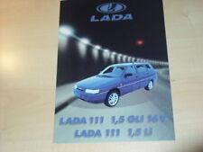 23515) Lada 111 Schweiz Prospekt 199?