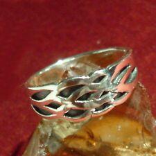 Flecht Ring 925 Silber Wikinger Viking Knotwork LARP 3