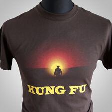 Kung Fu Retro TV T Shirt David Carradine Cool Cult Classic MMA Karate Caine