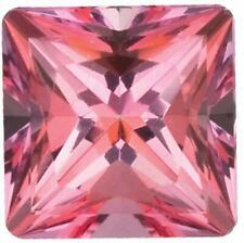 Natural Fine Rich Pink Topaz - Square Princess - Brazil - AAA Grade