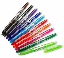 Pilot FriXion Ball 0.7mm Erasable Rollerball Gel Pen BL-FR7 - ALL Colours