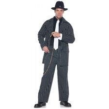 Gangster Costume Adult Roaring 20s Halloween Fancy Dress