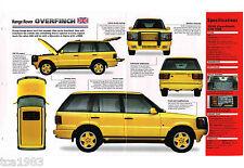 RANGE ROVER OVERFINCH 570 HSE IMP Brochure: 1998,1997,1996