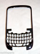 Genuine Blackberry Curve 9300 3G Silver / Chrome Front Fascia Cover