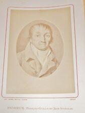 PHOTOGRAPHIE ANCIENNE Portrait ANDRIEUX Avocat Poète  BIOGRAPHIE ALSACE 1884