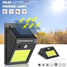 48 LED Solar Power Motion Sensor Wall Light Outdoor Waterproof Garden Yard Lamp